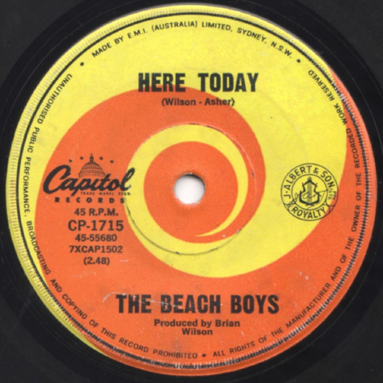 Beach Boys On 45