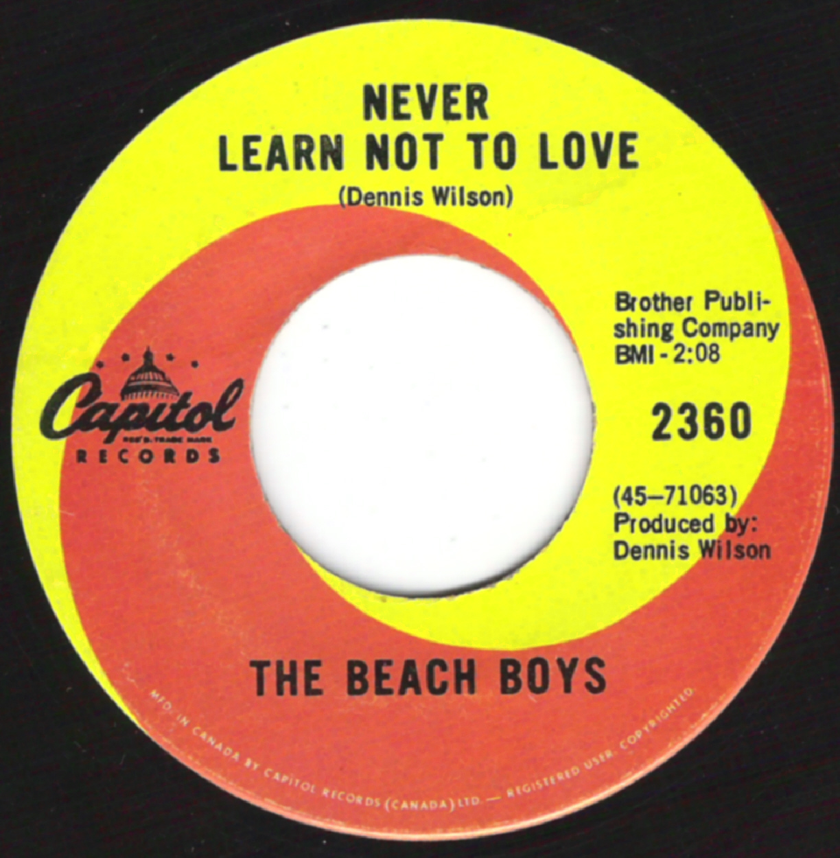Never Learn Not To Love - YouTube